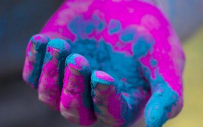 India: oggi si celebra Holi, il festival dei colori!!
