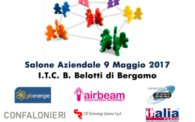 Airbeam presso Istituto Belotti di Bergamo!!