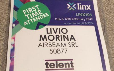 Londra: Presentazione Airbeam a LINX104